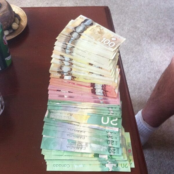 Fake Canadian Dollars for sale