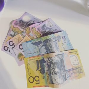 Fake Australian dollar for sale