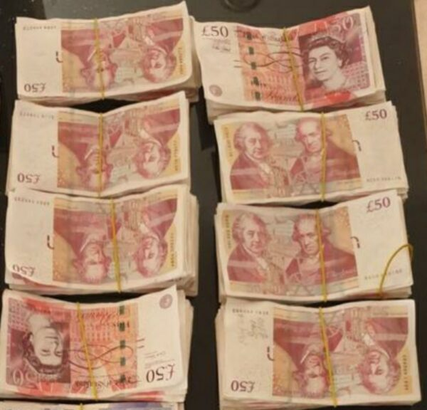 Fake £50 bank notes for sale